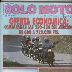 Coleccionismo de Revistas y Periódicos: SOLO MOTO NUMERO 071. Lote 245593985