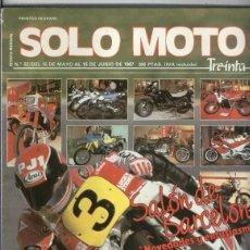 Coleccionismo de Revistas y Periódicos: SOLO MOTO NUMERO 052. Lote 245594000