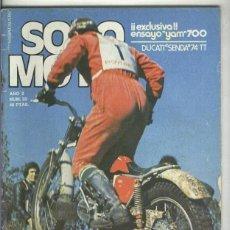 Coleccionismo de Revistas y Periódicos: SOLO MOTO NUMERO 025. Lote 245594015