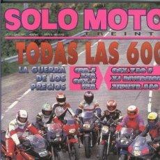 Coleccionismo de Revistas y Periódicos: SOLO MOTO NUMERO 113. Lote 245594170