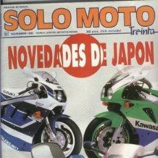 Coleccionismo de Revistas y Periódicos: SOLO MOTO NUMERO 093. Lote 245594200