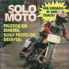 Coleccionismo de Revistas y Periódicos: SOLO MOTO NUMERO 290. Lote 245594235
