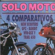 Coleccionismo de Revistas y Periódicos: SOLO MOTO NUMERO 103. Lote 245594395