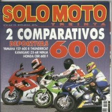 Coleccionismo de Revistas y Periódicos: SOLO MOTO NUMERO 161. Lote 245594430
