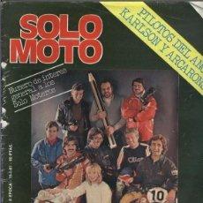 Coleccionismo de Revistas y Periódicos: SOLO MOTO NUMERO 269 (CUBIERTA ESTROPEADA EN LADO LOMO). Lote 245594570