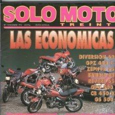 Coleccionismo de Revistas y Periódicos: SOLO MOTO NUMERO 118. Lote 245594575