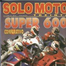 Coleccionismo de Revistas y Periódicos: SOLO MOTO NUMERO 122. Lote 245594640