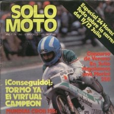 Coleccionismo de Revistas y Periódicos: SOLO MOTO NUMERO 293. Lote 245594680