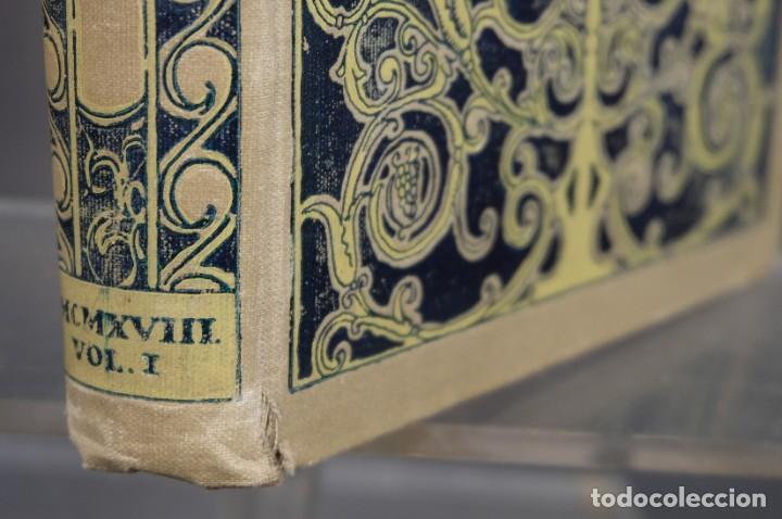 Coleccionismo de Revistas y Periódicos: D'Aci D'Alla Revista Gráfica catalana 1918-primer volumen - Foto 4 - 245640340