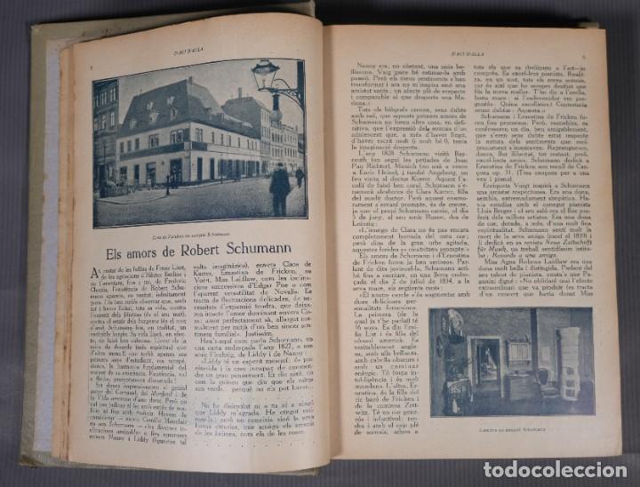 Coleccionismo de Revistas y Periódicos: D'Aci D'Alla Revista Gráfica catalana 1918-primer volumen - Foto 8 - 245640340
