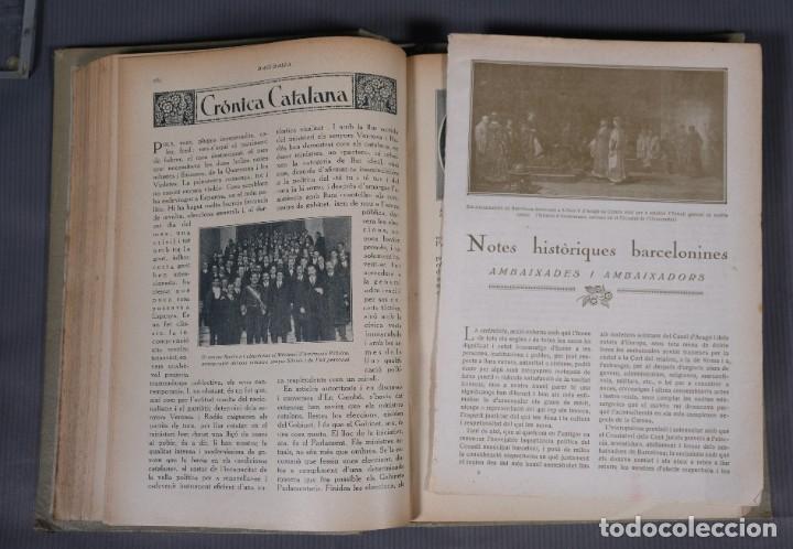 Coleccionismo de Revistas y Periódicos: D'Aci D'Alla Revista Gráfica catalana 1918-primer volumen - Foto 9 - 245640340