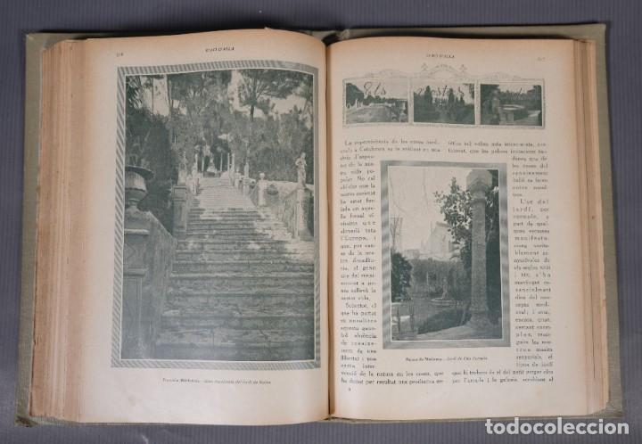Coleccionismo de Revistas y Periódicos: D'Aci D'Alla Revista Gráfica catalana 1918-primer volumen - Foto 10 - 245640340