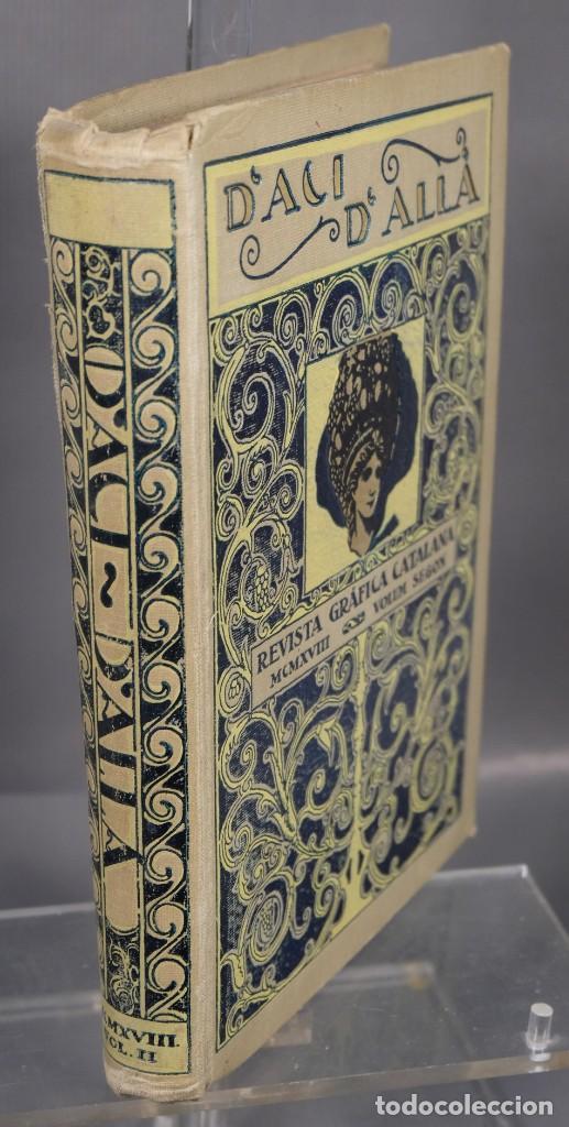 Coleccionismo de Revistas y Periódicos: D'Aci D'Alla Revista Gráfica catalana 1918-segundo volumen - Foto 3 - 245641590