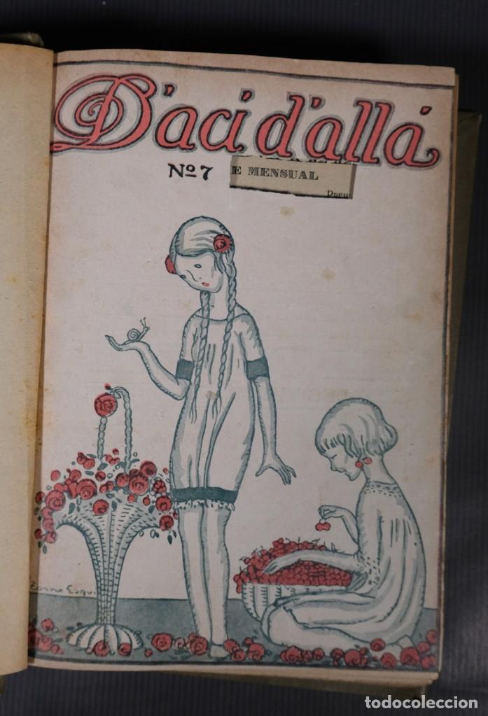 Coleccionismo de Revistas y Periódicos: D'Aci D'Alla Revista Gráfica catalana 1918-segundo volumen - Foto 6 - 245641590