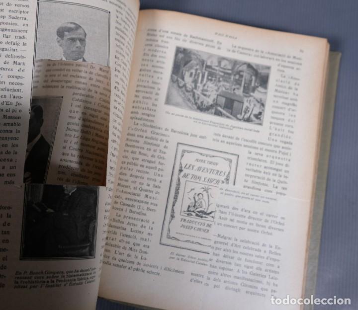 Coleccionismo de Revistas y Periódicos: D'Aci D'Alla Revista Gráfica catalana 1918-segundo volumen - Foto 9 - 245641590