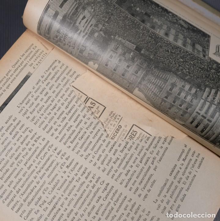 Coleccionismo de Revistas y Periódicos: D'Aci D'Alla Revista Gráfica catalana 1918-segundo volumen - Foto 13 - 245641590