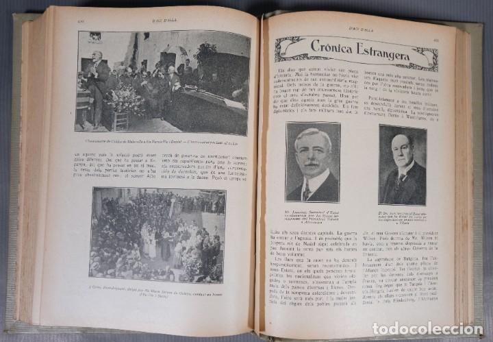 Coleccionismo de Revistas y Periódicos: D'Aci D'Alla Revista Gráfica catalana 1918-segundo volumen - Foto 14 - 245641590