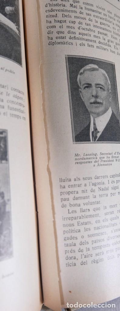 Coleccionismo de Revistas y Periódicos: D'Aci D'Alla Revista Gráfica catalana 1918-segundo volumen - Foto 15 - 245641590