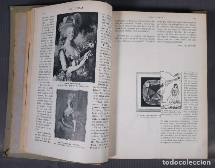 Coleccionismo de Revistas y Periódicos: D'Aci D'Alla Revista Gráfica catalana 1919-cuarto volumen - Foto 9 - 245641615