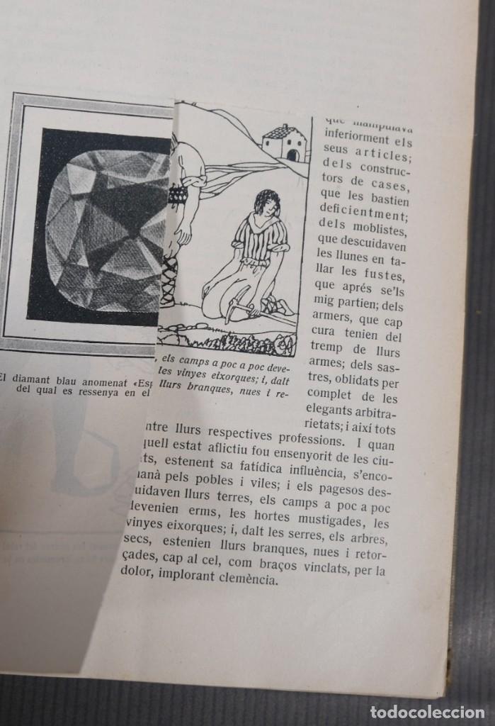 Coleccionismo de Revistas y Periódicos: D'Aci D'Alla Revista Gráfica catalana 1919-cuarto volumen - Foto 10 - 245641615