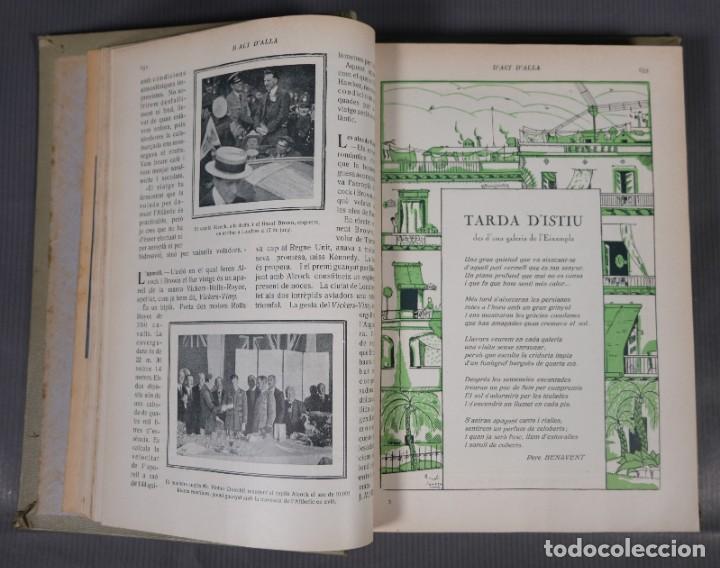 Coleccionismo de Revistas y Periódicos: D'Aci D'Alla Revista Gráfica catalana 1919-cuarto volumen - Foto 11 - 245641615