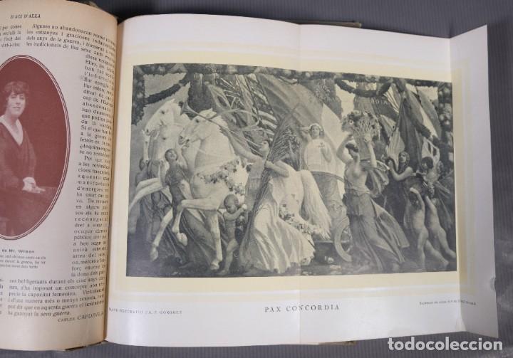Coleccionismo de Revistas y Periódicos: D'Aci D'Alla Revista Gráfica catalana 1919-cuarto volumen - Foto 13 - 245641615