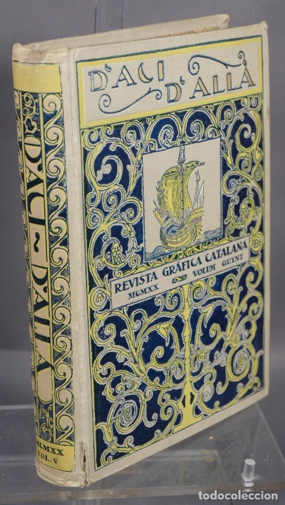 Coleccionismo de Revistas y Periódicos: D'Aci D'Alla Revista Gráfica catalana 1920-quinto volumen - Foto 3 - 245641625