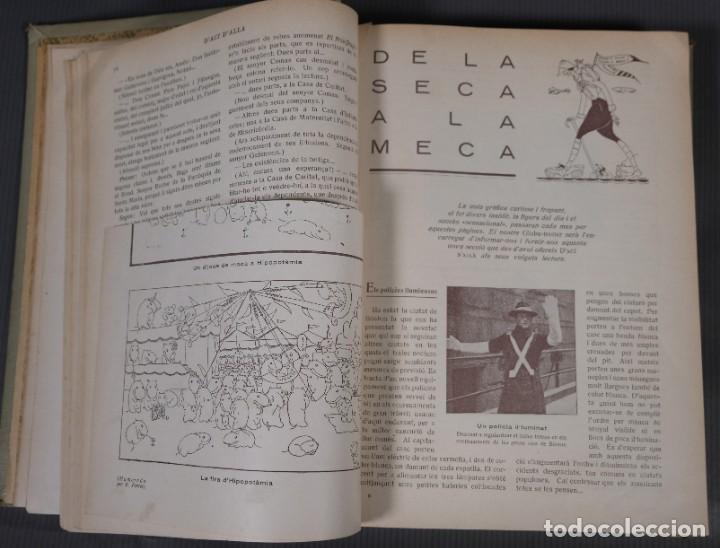 Coleccionismo de Revistas y Periódicos: D'Aci D'Alla Revista Gráfica catalana 1920-quinto volumen - Foto 10 - 245641625