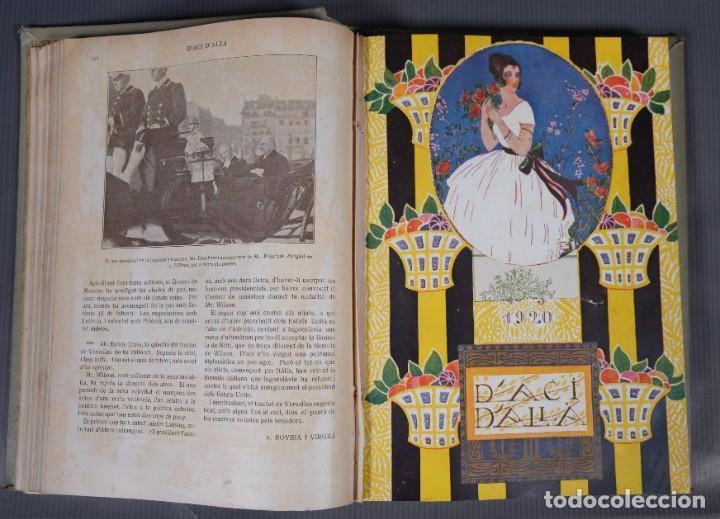 Coleccionismo de Revistas y Periódicos: D'Aci D'Alla Revista Gráfica catalana 1920-quinto volumen - Foto 11 - 245641625