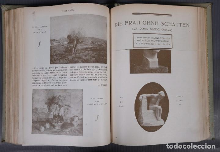 Coleccionismo de Revistas y Periódicos: D'Aci D'Alla Revista Gráfica catalana 1920-quinto volumen - Foto 12 - 245641625