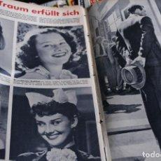 Coleccionismo de Revistas y Periódicos: REVISTA ALEMANA REVUE AUDREY HEPBURN 1955. Lote 245718360