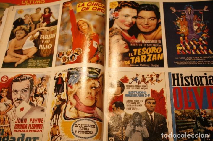 Coleccionismo de Revistas y Periódicos: PANTALLA 3 AUDREY HEPBURN SILVIA PINAL CARATULAS PELICULAS 1990 - Foto 2 - 245725820