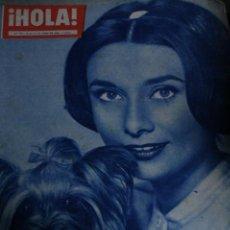 Coleccionismo de Revistas y Periódicos: REVISTA HOLA Nº 772 AUDREY HEPBURN 1959. Lote 245726425