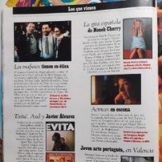 Coleccionismo de Revistas y Periódicos: MADONNA EVITA NENEH CHERRY BEATRIZ CARVAJAL. Lote 245743625