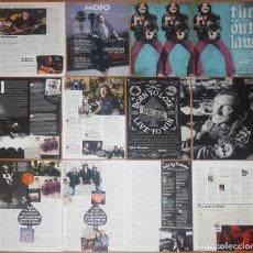 Coleccionismo de Revistas y Periódicos: LEMMY MOTÖRHEAD LOTE PRENSA UK CLIPPINGS PHOTOS MAGAZINE ARTICLES CUTTINGS ROCK MUSIC. Lote 245879920