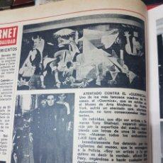Coleccionismo de Revistas y Periódicos: ATENTADO CONTRA EL GUERNICA. Lote 245903705