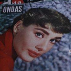 Coleccionismo de Revistas y Periódicos: AUDREY HEPBURN MARIA CALLAS PABLICO CALVO ONDAS Nº 64 1955. Lote 245922135