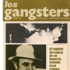 Coleccionismo de Revistas y Periódicos: LOS GANGSTERS. FASCÍCULO Nº 4. HISTORIA DE LA CRIMINALIDAD ORGANIZADA.EDT. SEDMAY .(T/19). Lote 245963330