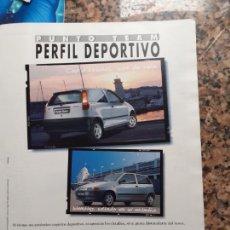 Coleccionismo de Revistas y Periódicos: ANUNCIO FIAT PUNTO TEAM. Lote 246022215