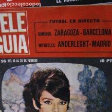 Coleccionismo de Revistas y Periódicos: AUDREY HEPBURN ROGER MOORE HERVE VILARD RAFAELA APARICIO PEDRO MARI SANCHEZ 1966. Lote 246091335