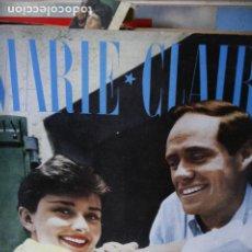 Coleccionismo de Revistas y Periódicos: REVISTA FRANCESA MARIE CLAIRE AUDREY HEPBURN MEL FERRER 1957. Lote 246095615