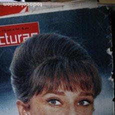 Coleccionismo de Revistas y Periódicos: AUDREY HEPBURN TITO MORA ANNA KARINA JEANNE MOREAU GINA LOLLOBRIGIDA 1963. Lote 246100145