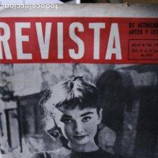 Coleccionismo de Revistas y Periódicos: LA REVISTA AUDREY HEPBURN 1955 MUY RARA. Lote 246100435
