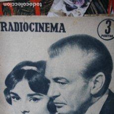 Coleccionismo de Revistas y Periódicos: RADIO CENEMA Nº 362 AUDREY HEPBURN GARY COOPER CARMEN SEVILLA MARINA VLADY 1957. Lote 246101900