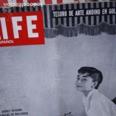Coleccionismo de Revistas y Periódicos: REVISTA LIFE AUDREY HEPBURN 1954. Lote 246102240