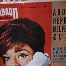 Coleccionismo de Revistas y Periódicos: AUDREY HEPBURN CHICHO IBAÑEZ SERRADOR MIE HAMA 1967. Lote 246102775