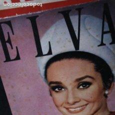 Coleccionismo de Revistas y Periódicos: REVISTA TELVA Nº 14 AUDREY HEPBURN MELFERRER BEATLES 1964. Lote 246103210