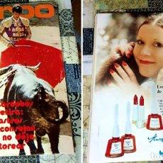 Coleccionismo de Revistas y Periódicos: REVISTA GARBO AÑO XX N. 1005 2 DE AGOSTO DE 1972. Lote 246135780