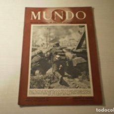 Coleccionismo de Revistas y Periódicos: REVISTA MUNDO Nº 67 ( 17 AGOSTO 1941). Lote 246136185