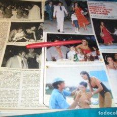Coleccionismo de Revistas y Periódicos: RECORTE : ENCUENTRO DE MARIA JOSE CANTUDO CON MANOLO OTERO. SEMANA, AGTO 1980(#). Lote 246136815